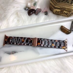 Accessories - 42/44mm Tortoise Shell W/Rose Gold Accent